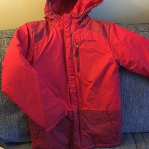 Boys red Columbia winter coat! Make an offer!!